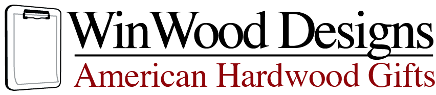 WinWood Designs Personalized Hardwood Corporate Gifts